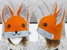 Fox Hat by clearkid.deviantart.com on @deviantART