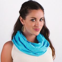 """Introducing The Samui Collection in """"Island Blue""""! All purchases give back to children in need and empower some really wonderful women!! Www.elizabethkoh.com : @dpfroggy : @onecoconutlove #elizabethkoh #springcollection #island #blue #infinityscarf #bluescarf #springscarf #ethicallymade #handcrafted #giveback #newcollection #cotton Www.elizabethkoh.com : @dpfroggy : @onecoconutlove #elizabethkoh #springcollection #island #blue #infinityscarf #bluescarf #springscarf"""