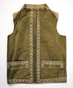 1785-1805, France, Met http://www.metmuseum.org/collection/the-collection-online/search/90987?rpp=30&pg=1&ft=waistcoat&pos=21