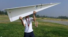 Worlds Largest Paper Airplane