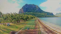 Le Morne KIte Beach, Mauritius Africa Travel, Mauritius, Kite, Dolphins, Swimming, Activities, Beach, Fun, Outdoor