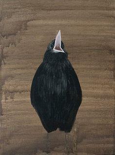 Magdalena Karpińska Surrealism, Painting, Birds, Instagram, Painting Art, Paintings, Bird, Painted Canvas, Drawings