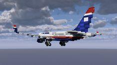 Avteam Boeing 757-200 Minecraft Project Minecraft Creations, Minecraft Projects, Minecraft Designs, Minecraft Ideas, Minecraft City Buildings, Minecraft Architecture, Norwegian Air, Minecraft Decorations, Minecraft Construction
