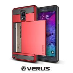 Galaxy Note 4 Verus Damda Slide Card Holder Case