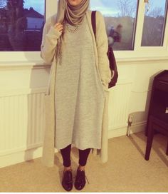 Oversize outfit and hijab                                                                                                                                                                                 More