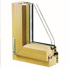 infissi in legno-alluminio #infissi #serramenti #PVC #Alluminio #legno #wood…
