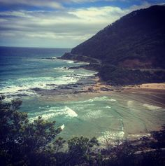 Went on a hike and saw the most beautiful views  #greatoceanroad #lorne #australia by riles_a_x