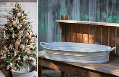 Our Serving Trays are extremely versatile and perfect for indoor and outdoor entertaining! Each Galvanized tub or galvanized tray Tray will bring utilitarian charm to any space! For more visit Decor Steals at www.decorsteals.com OR www.facebook.com/DecorSteals