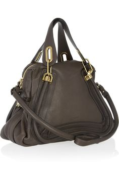 CHLOÉ Paraty Medium leather bag. Oh how I want you.