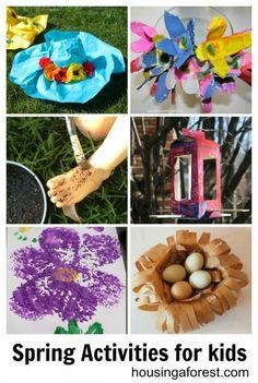 Spring Activities for kids