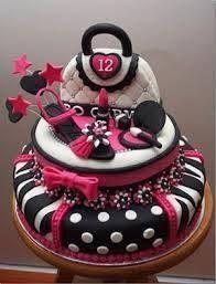 Resultado de imagen para pasteles de cumpleaños para adolescentes mujer