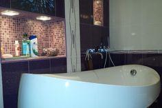 Amenajarea unei băi. Detalii pe BricoHub.ro Bathroom, Bathtub