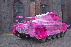 tank bombed