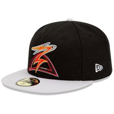 Salem-Keizer Volcanoes Authentic Alternate 1 Fitted Cap - San Francisco MiLB