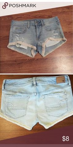 NWT American Eagle Shorts New American Eagle Outfitters Shorts Jean Shorts American Eagle Outfits, American Eagle Shirts, American Eagle Sweater, Casual Shorts, Casual Outfits, American Eagle Outfitters Shorts, Ladies Dress Design, Ripped Jeans, Winter Outfits
