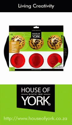 Coming soon! House of York will soon be selling a trendy black and red silicone design baking range. This is our 6 Cup Muffin Pan for a sneak peek!