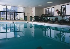 Our large, heated indoor pool :)