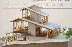 Maquette Architecture, Japan Architecture, Tropical Architecture, Architecture Student, Concept Architecture, Landscape Architecture, Residential Architecture, Interior Architecture, Glass House Design