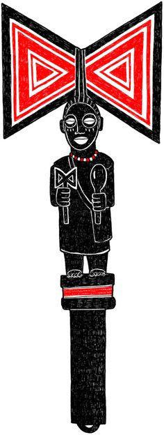 Artwork and stories about Orisha and Yoruba culture worldwide. Shango Orisha, African Mythology, African Tattoo, Yoruba People, Cigar Art, Afro Art, Gods And Goddesses, Religious Art, African Art