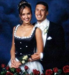 The Most Awkward Celebrity Prom Photos of All Time - Jessica Alba