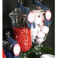 Snack bar for Baseball party
