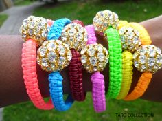 Arm Candys Taro Collection Neon Bracelets   by tarocollection, $17.30
