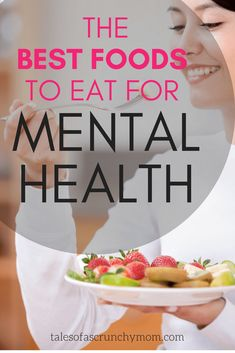 Anxiety, depression and our mental health in general are greatly influenced by the foods we eat. When you need relief, try these foods that help with anxiety ** Click to download your free whole foods recipe ebook and meal plan ** | Tales of a Scrunchy Mom #anxiety #depression #mentalhealth #healthyeatingtips #healthylifestylehabits #holisticnutrition #wholefoodplantbased