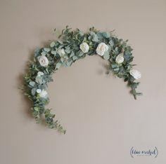 Eucalyptus Garland, Wedding Garland, Wedding Backdrop, Eucalyptus, Silk Flower G. Greenery Garland, Floral Garland, Flower Garlands, Garland Ideas, Backdrop Ideas, Garland Wedding, Arch Wedding, Wedding Ideas, Wedding Planning
