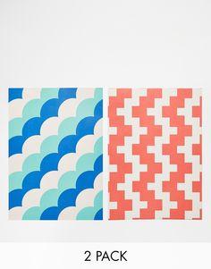 Geschenkpapier von Grafika mattes Design wendbares Design Zweierset