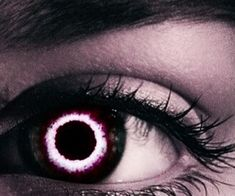 the mark of the player/slayer. the implant in their eye gives them a way to scan landscapes/upload data and build their own personal monster database/mark targets as well as start duels/games and keep score. Beautiful Eyes Color, Pretty Eyes, Cool Eyes, Dark Fantasy, Fantasy Art, Demon Eyes, Aesthetic Eyes, Crazy Eyes, Magic Eyes
