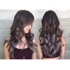 So in love with these smokey lilac tones…