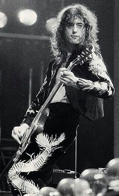 Jimmy Page, Earl's Court, London - 1975