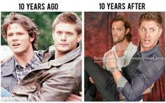 10 years before and after, they're still the hottest and the best!