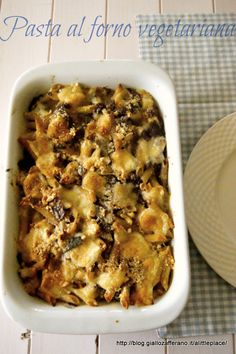 pasta al forno vegetariana a litle place to rest