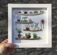 Pebble Stone, Pebble Art, Stone Art, Sea Glass Art, Shell Art, Driftwood Art, Handmade Decorations, Welsh, Shells