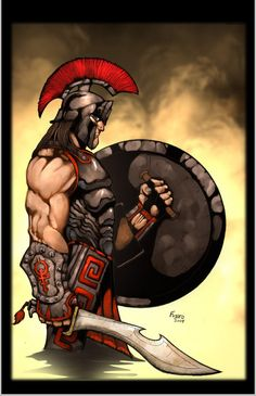 Hoplite, Argos soldier by Kid-Destructo on deviantART