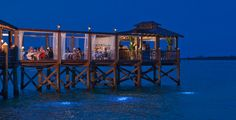 Gordon's On The Pier Restaurant at Sandals Royal Bahamian in Nassau, Bahamas