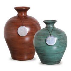 Vasos Decorativos Risque  25x19 - 21x16 cm