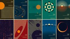 Retro Space Poster Collection 2009