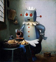 Kitchen Maid - Andy Leipzig