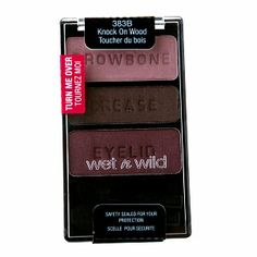 Wet n Wild Coloricon eyeshadow trio in Knock on Wood. I think this particular trio is being discontinued, f.y.i.!