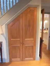 Image result for cupboard under the stairs door