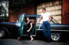 Brinton Studios » Brie and TJ's doin it up 50's style