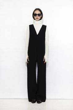 NOMIA, V-Neck Jumpsuit | Winter Outfits, Winter Clothes, Normcore, Jumpsuit, One Piece, V Neck, Style Inspiration, My Style, Womens Fashion