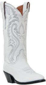 I have a pair of white cowgirl boots! I'm so going to wear them on my wedding day!!