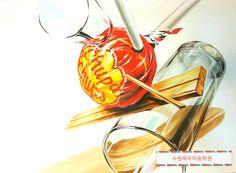 기초디자인 개체묘사 #츄파춥스개체묘사#목우미술학원 Hyperrealism, Layout, Drawings, Tattoo, Sketches, Page Layout, Tattoos, Draw, Irezumi