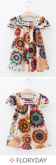 African Dresses For Kids, Little Girl Outfits, Little Girl Dresses, Kids Outfits, Baby Dresses, Baby Girl Dress Design, Girls Frock Design, Baby Girl Dress Patterns, Dress Girl