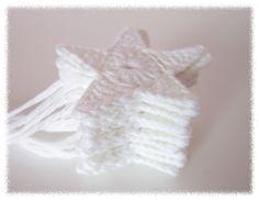 Prinsessajuttu: Virkkaa tähtiä -ohje Crochet Stars, Knit Crochet, Princess Stories, Hand Knitting, Christmas Ornaments, Crafts, Diy, Crochet Christmas, Crochet Ideas