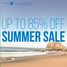 For a limited time only, save up to 85% on popular Beachbody programs and equipment!