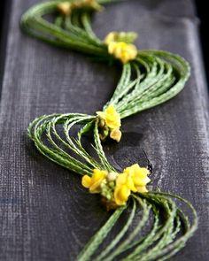 """・ 『雑草アーカイブズ』より 撮影地:秋田 クズを小型化したような葉に黄色い花。ヤブツルアズキは近所では見かけないので、出会えて感動したものです。メヒシバとともに草遊び。 ・ From my work """"Weed Archives"""". In Akita, northern part of Japan.  It was the first time to find vigna angularis var. nipponensis. So excited moment. ・ #ヤブツルアズキ #メヒシバ #Digitariaciliaris #vignaangularisvarnipponensis #秋田 #Akita #weed #flower #花 #雑草 #植物 #plants #造形美 #アート #自然 #art #beautyofnature #photo #photography #nature #azusakumagai #surroundingsofak"""
